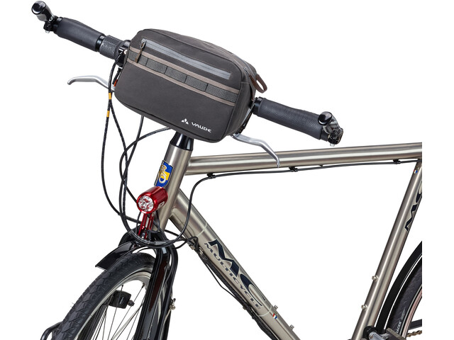 VAUDE Classic Box Handlebar Bag phantom black